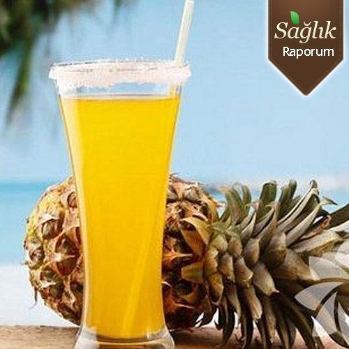 Ananas suyu cilt rahatsızlıklarını önlüyor!   Alternatif Tıp, Cilt Bakımı ve Güzellik