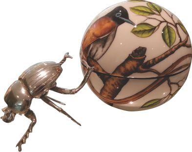 Dung Beetle Paradise Fly Catcher - Large Ball - ZAR3400.00