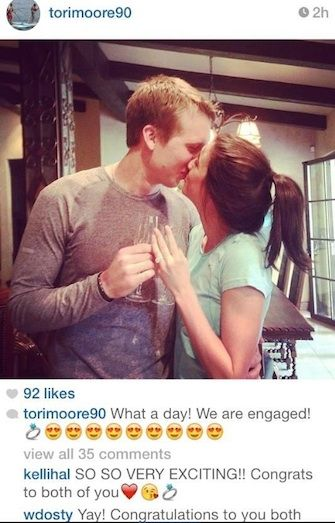 Nick Foles Wife Tori Moore, Andrew Luck's Girlfriend - Pac 12 WAGs College Athletes, Too