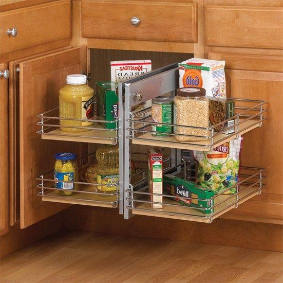 Blind Corner Kitchen Cabinet Ideas: 33 Best Cabinet Accessories Images On Pinterest