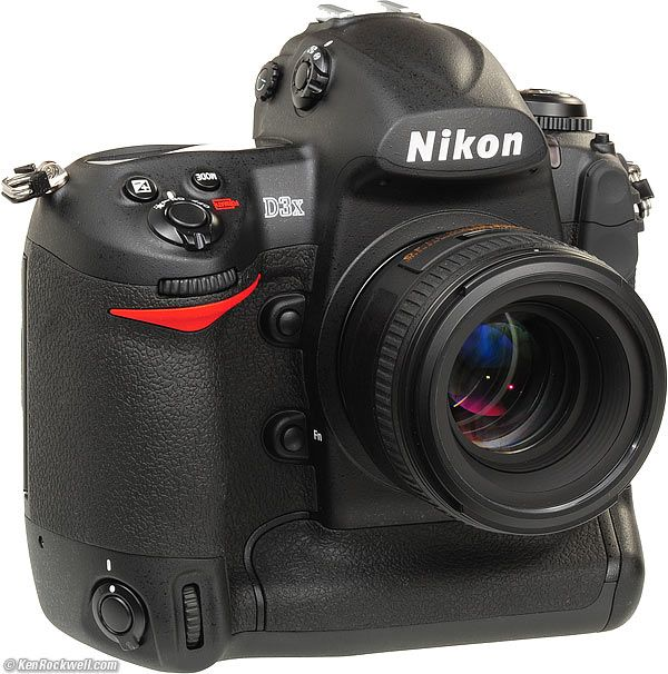You were right ... Nikon D3X ... $8,000 MSRP! Want one? ;-)
