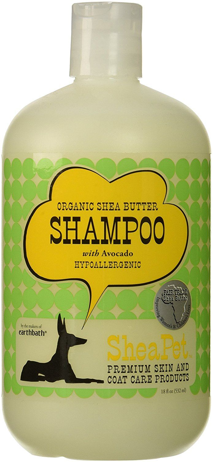 EARTHBATH 026501 Shea Butter and Avocado Shamp Sulfate-Free Shampoo for Dogs, 18-Ounce * Startling review available here  (This is an amazon affiliate link. I may earn commission from it)