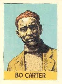 Bo Carter - Robert Crumb Blues Cards - nr. 36