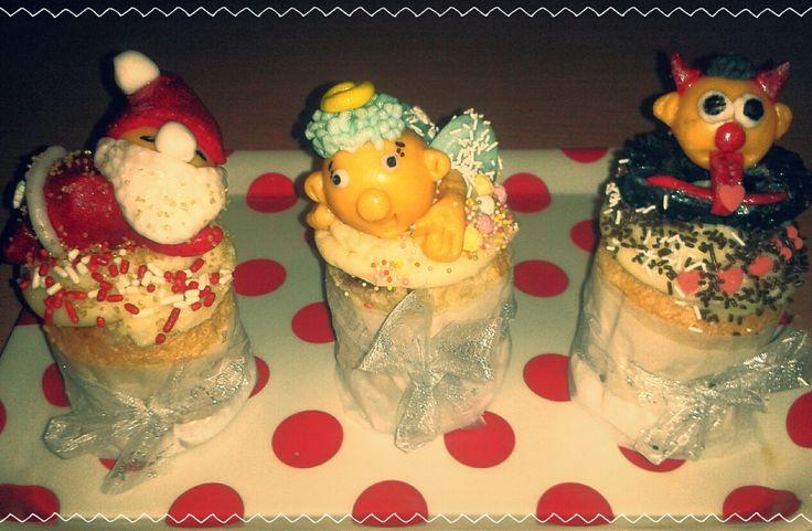 Muffin - Mikuláš, anděl a čert
