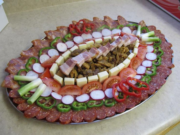 17 best images about meat trays on pinterest cherries for Cold canape ideas