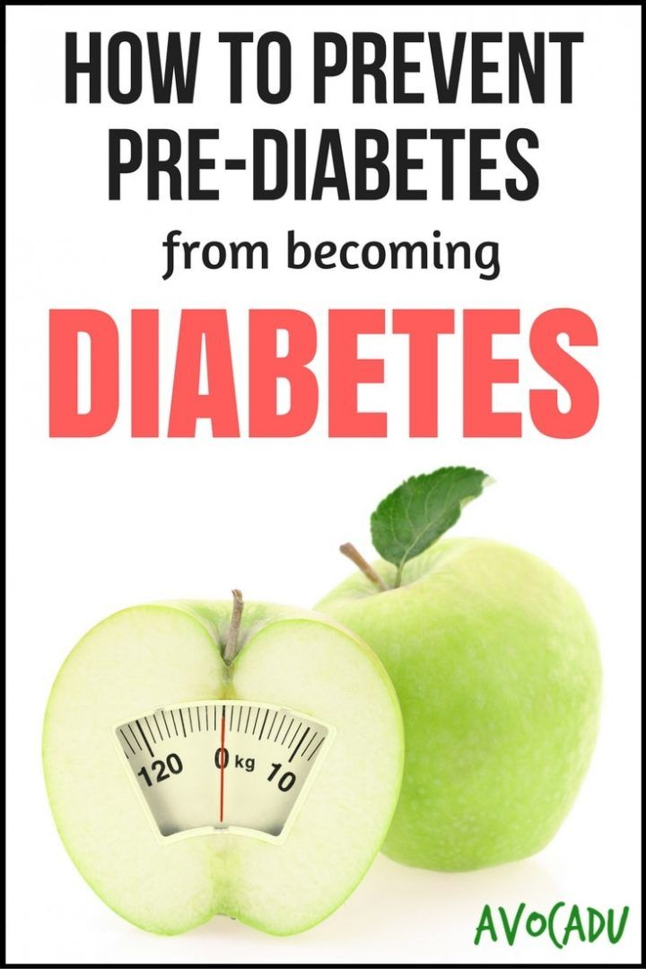 How to Prevent Pre-Diabetes from becoming Diabetes Pin