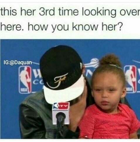 Lmao these memes are so funny ! Riley is so cute