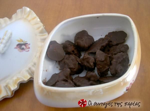 Υγιεινά και εύκολα σοκολατάκια #sintagespareas