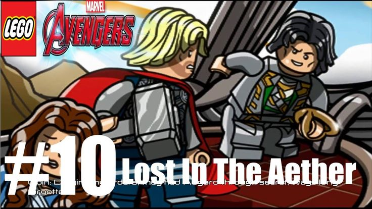 LEGO MARVEL'S AVENGERS Level 10 Lost In The Aether