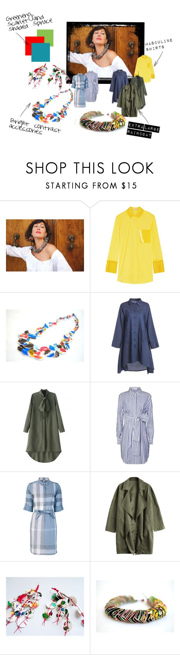 """""""Fall 2017 Trends"""" by renterodesigns on Polyvore featuring moda, Christopher Kane, WithChic, T By Alexander Wang y Burberry"""