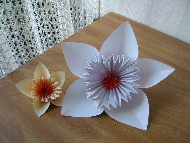 Flores de Papel (Origami)   Manualidades / Grafts   Pinterest ...