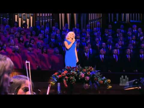 "Katherine Jenkins and the Mormon Tabernacle Choir sing ""The Prayer""  #DancingwiththeStars"
