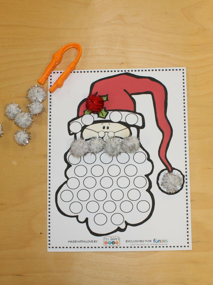 Checkout this fun fine motor activity for Christmas time. It is FREE over at Oriental Trading!