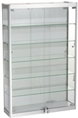Glass Wall Display Cabinets, Trophy Cabinets  to order online at www.accessdisplays.co.uk