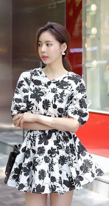Korean Fashion Online Store 韓流 Trends Luxe Asian Women 韓国 Style Shop korean clothing Diaire Dress