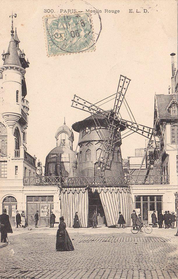 paris moulin rouge 1905....reépinglé par Maurie Daboux ❥•*`*•❥