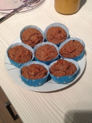 Schoko-Bananen-Sattmacher-Muffins Weight Watchers Community Blog Eintrag
