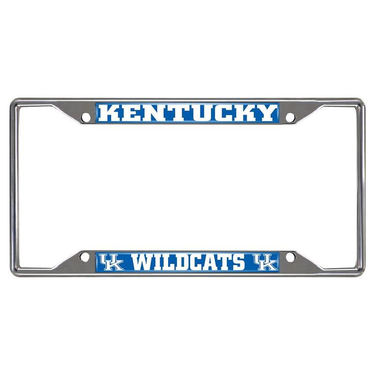 Kentucky Wildcats License Plate Frame, Multicolor