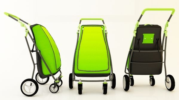 Shopping trolley design on Industrial Design Served