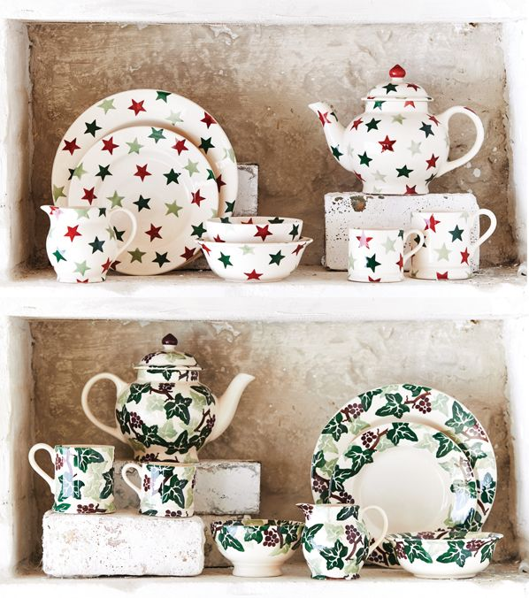 2015 Winter Sale patterns are... at Emma Bridgewater from 7 December.  I would love any Christmas china - a mix and match collection that just comes out for December would be fun!