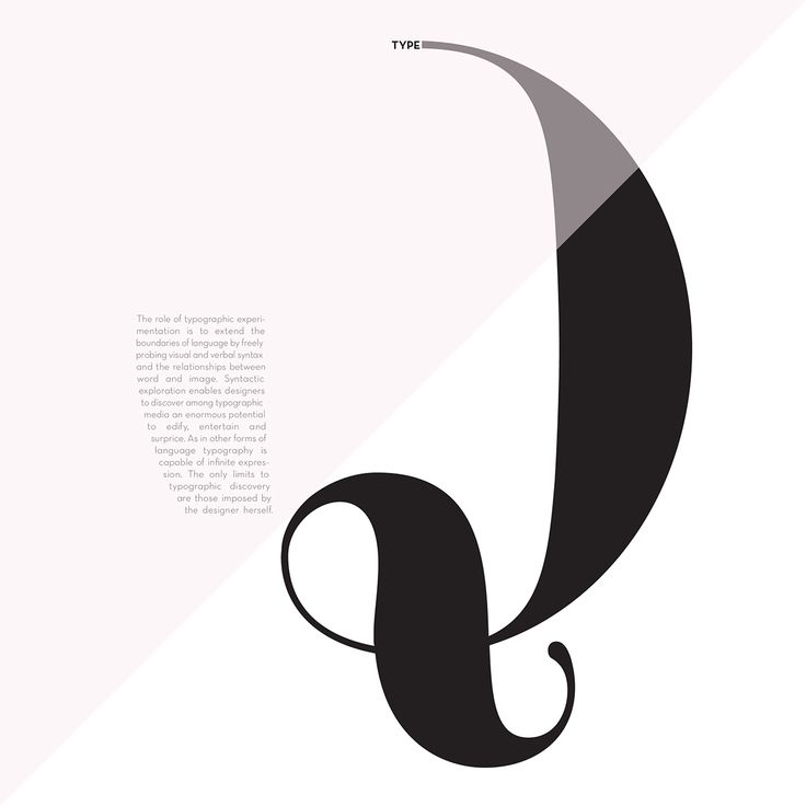 Experimental Typography on Behance