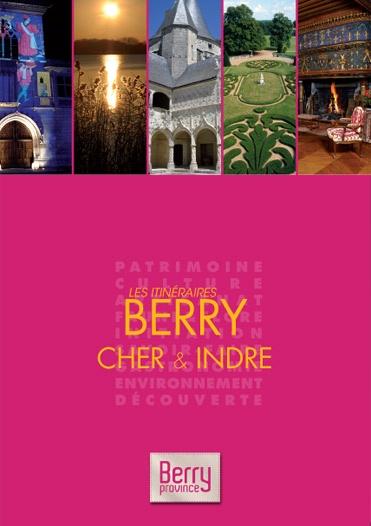 """Retrouvez ce guide du Berry superbement illustré publié aux éditions """"Les itinéraires"""" - 2012/13"""