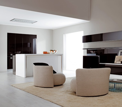 Unione di cucina e living Met, Metropolitan Future Kitchen, è un ...