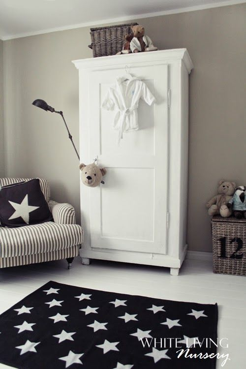 Paint pbk armoire white and replace doors with fabric?
