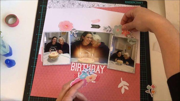 Kitaholic Kits DT: Layout #10 Birthday Love