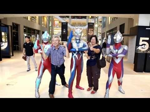 Ultraman Live in Genting Roadshow - YouTube