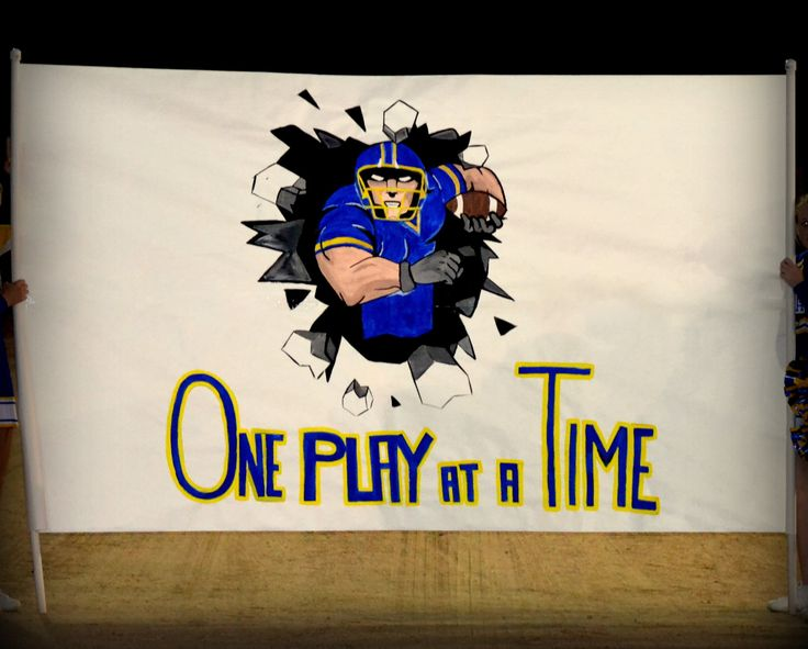 "High School Football Run Through: ""ONE PLAY AT A TIME"" Blue & Gold, Breaking…"