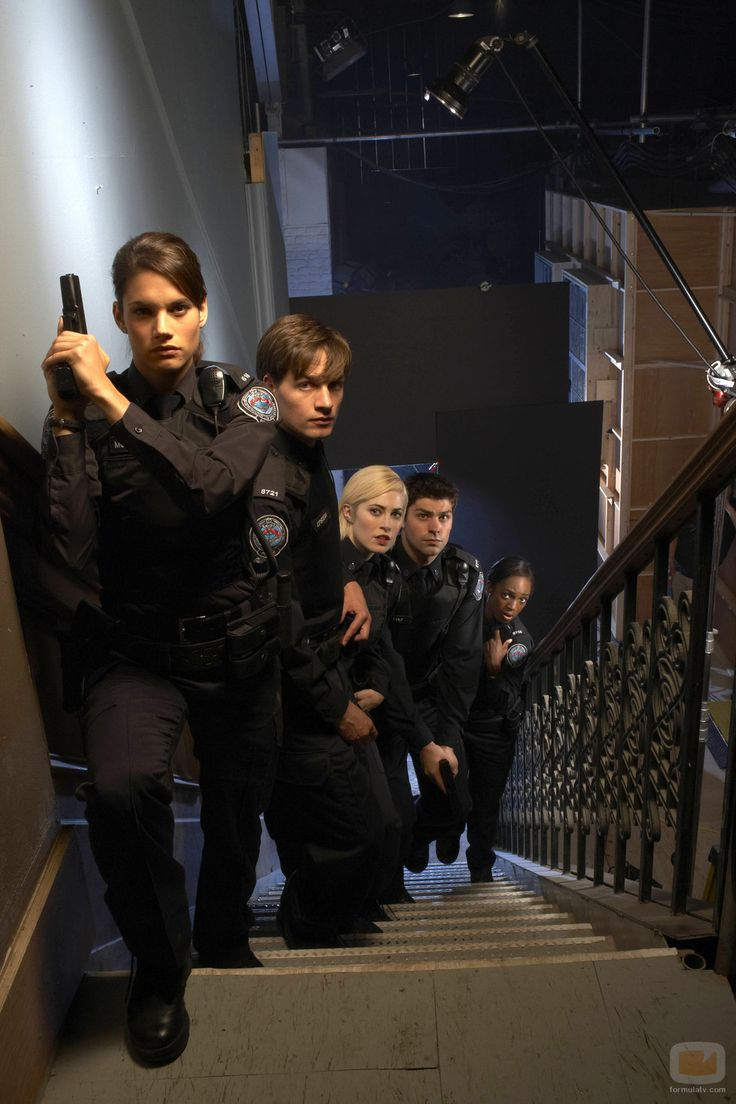 Rookie Blue. Love them all!