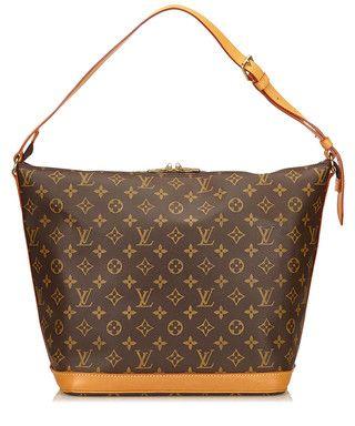 Amfar 3 brown canvas shoulder bag Sale - Vintage Louis Vuitton Sale