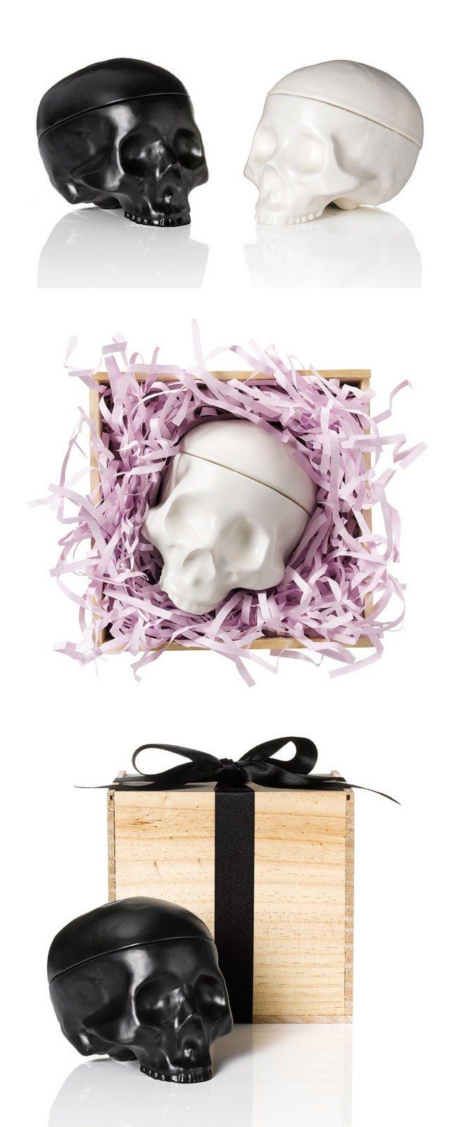 Skull jewellry box
