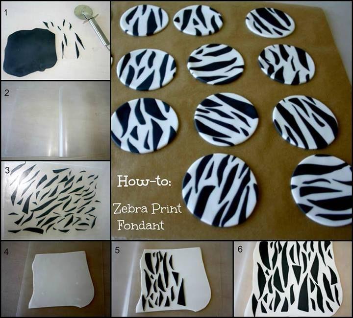 make zebra print fonda...