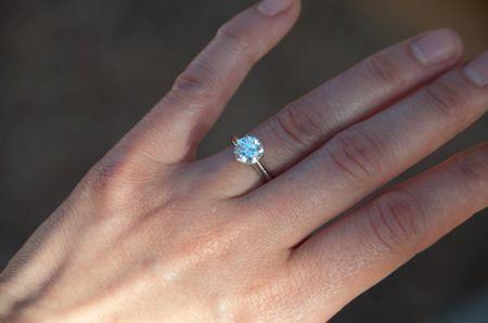 Tiffany Engagement Ring 1.40 carat