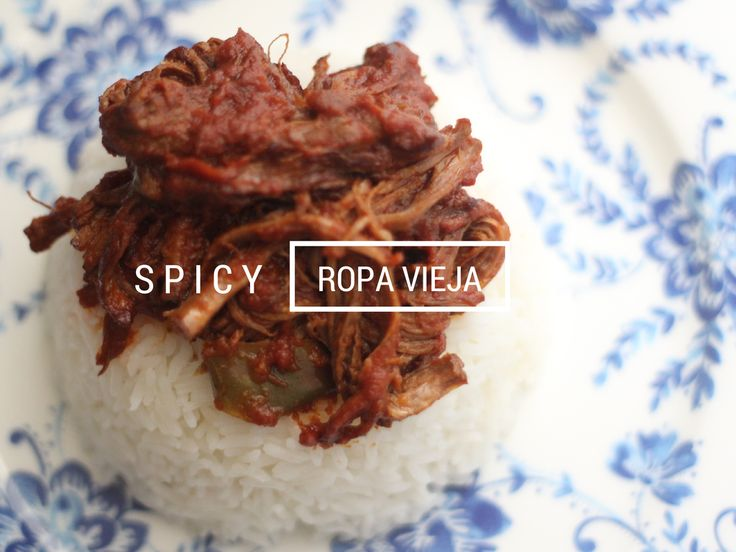 SLOW COOKER SPICY ROPA VIEJA RECIPE
