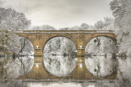 Prebends Bridge, Durham, England