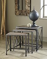 Rustic Accents - Nesting End Tables (3/CN) $247
