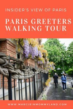 Looking for a FREE way to connect with a local Parisian and get an insider's view of Paris? Click to read more or pin to save for later. www.marcieinmommyland.com #paris #walkingtour #familytravel