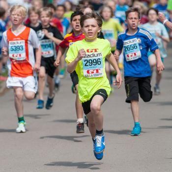 El 'running' es un deporte beneficioso para los niños. ¡Ayúdales a aficionarse!