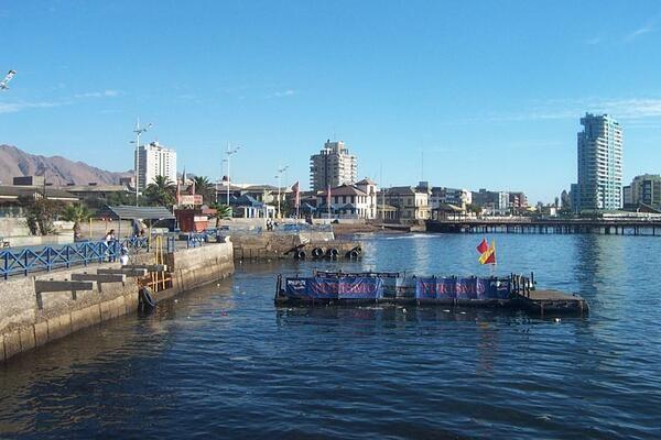 Antofagasta. Foto enviada por @jota_bobe