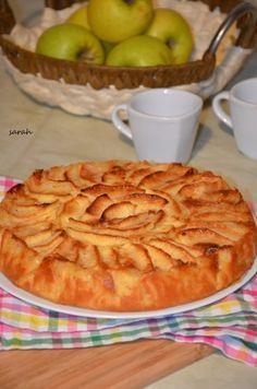 le meilleur des gateaux aux pommes gateau normand | Le Sucré Salé d'Oum Souhaib