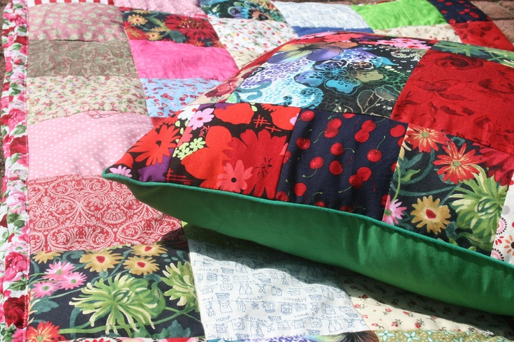 Happy Quilt and cushion