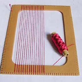 Как своими руками сделать ткацкий станок из картона
