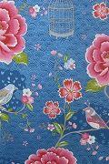 PiP Birds in Paradise Blue wallpaper | PiP Studio ©