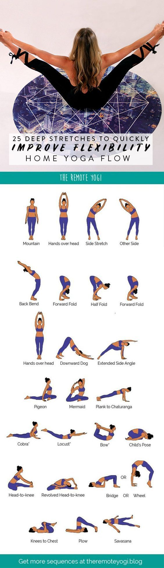 Yoga Flow for a Flexible Spine – FREE PDF