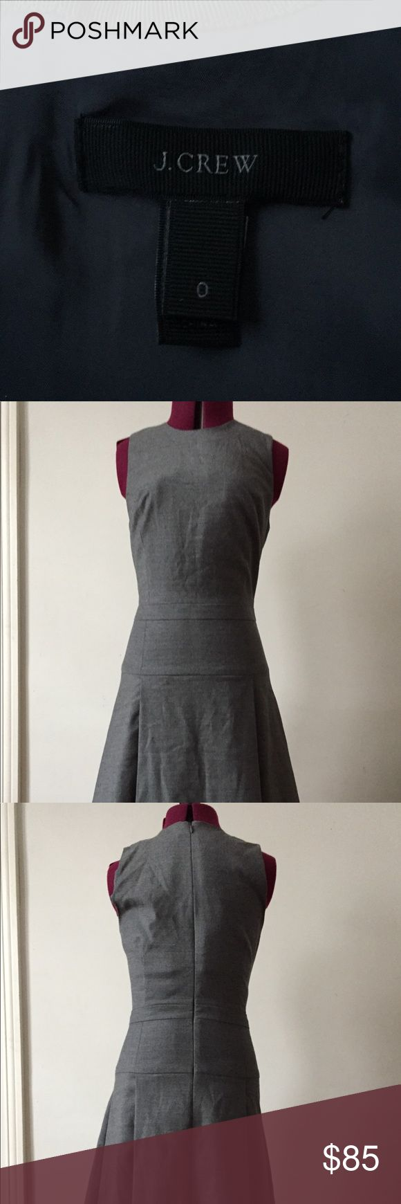 I just added this listing on Poshmark: J Crew gray sleeveless dress. #shopmycloset #poshmark #fashion #shopping #style #forsale #J. Crew #Dresses & Skirts