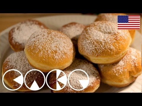 Homemade Jelly Donut Recipe - Laura Vitale - Laura in the Kitchen Episode 787 - YouTube