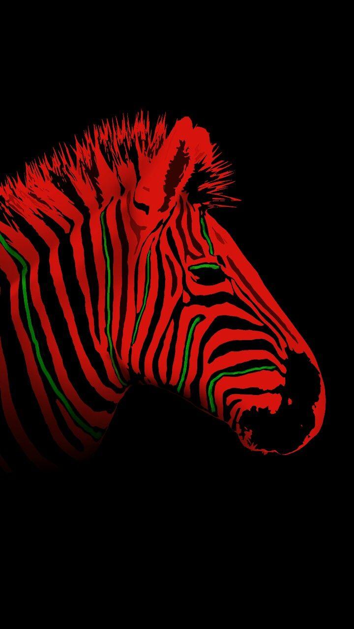Low-end Zebra - - #zebra #atribecalledquest #lowendtheory #hiphop #blackandred #stripes #samsunwallpaper #vectorart